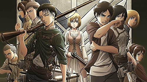 Poster Web Anime Attack On Titan Armin Arlert Attack On Titan Poster Stampa 30,5 x 45,5 cm (Multicolor) W-4480