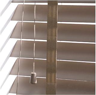 YJFENG Madera Persianas Venecianas Estores Correa De Escalera Control De Privacidad Impermeable, Pista De Metal Ajuste Manual Personalizable (Color : A, Size : 70x120cm)