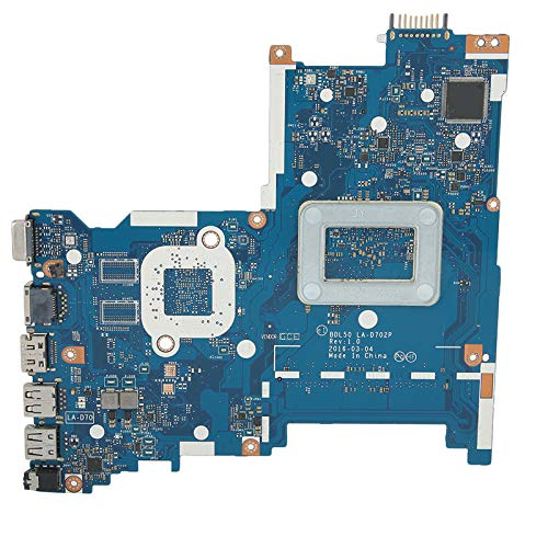 Hyuduo1 250 G5 Notebook Motherboard,456g Laptop Computer Mainboard Made of ABS+chip,for Int 858585-601 LA-D702P Notebook Laptop Computer