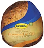 Butterball Just Perfect Hand Crafted Browned in Oil Skinless Turkey Breast, 8 Pound -- 2 per case.