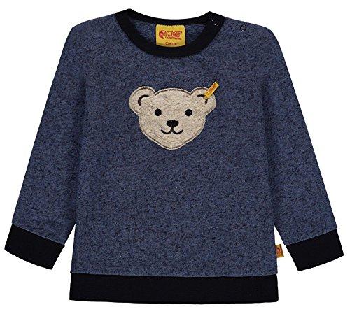 Steiff Steiff Baby-Jungen 1/1 Arm Sweatshirt, Blau (original|Multicolored 0004), 80