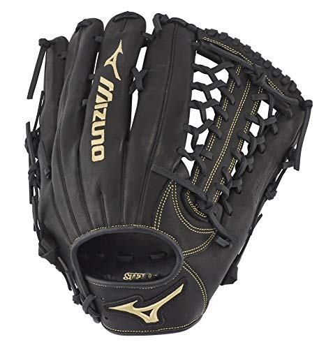 Mizuno MVP Prime Baseball Glove Series, 312708.RG90.16.1275, Black Shock 2 Web, 12.75'