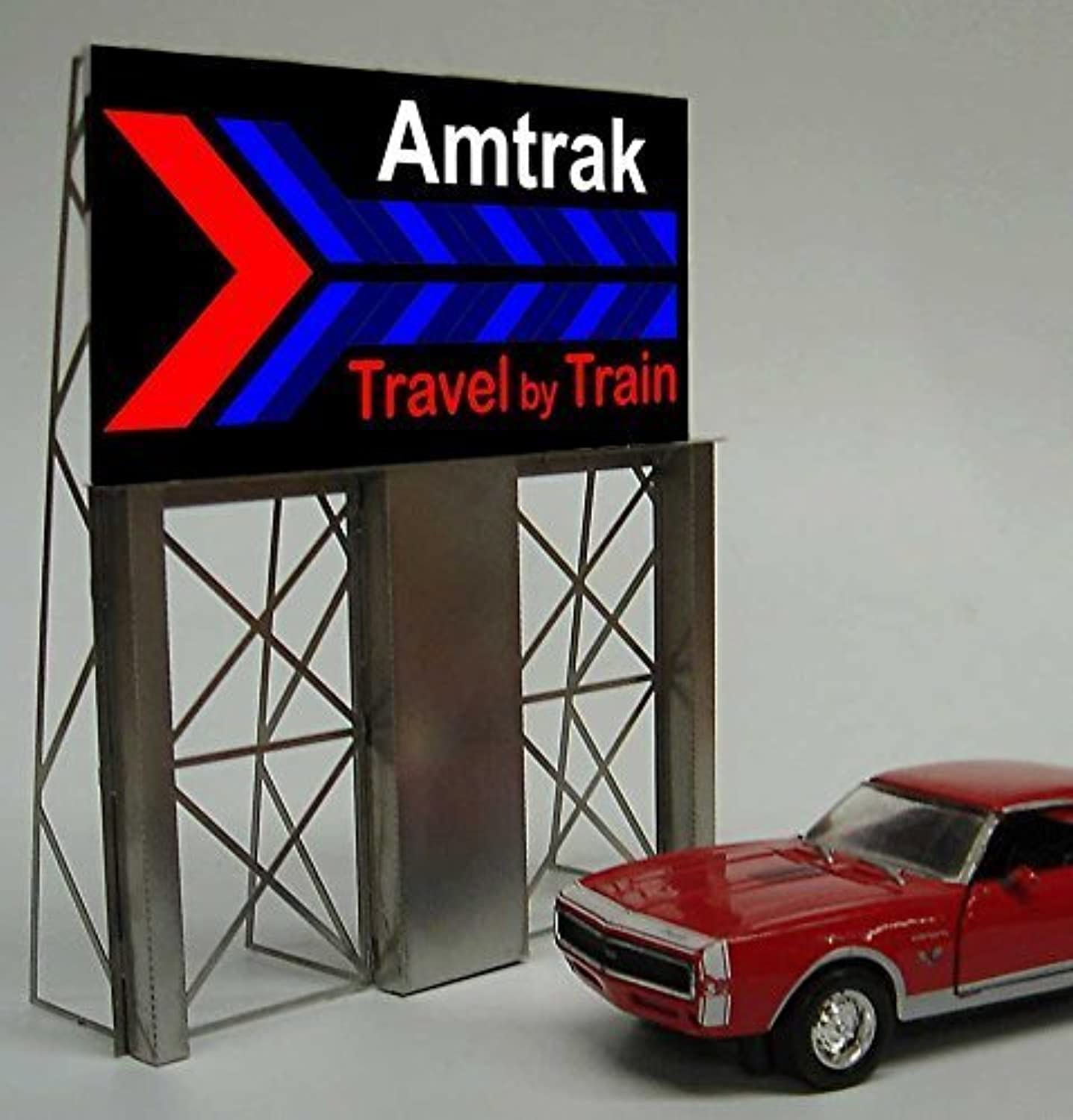 más descuento 8281 Amtrak Roadside Billboardby Billboardby Billboardby Miller Signs by Miller Engineering  comprar marca