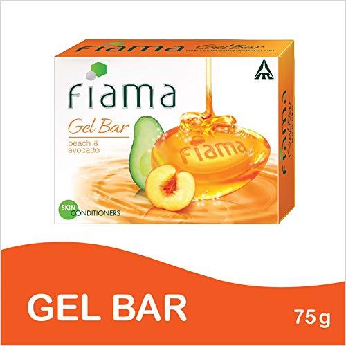 Fiama Di Wills Mild Dew Gel Bar, Peach and Avocado, 75g