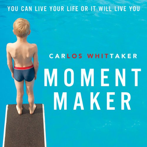 Moment Maker audiobook cover art