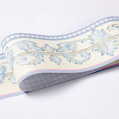 Bordo adesivo per carta da parati impermeabile, motivo 3D, rimovibile, autoadesivo, per cucina e bagno, 10,6 x 500 cm