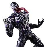 GXHLLYZY Marvel Super Spiderman Venom Figura De Acción, PVC Venom Toys 11 Pulgadas/Altura De Aproxim...