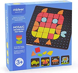 MIDEER Jigsaw Puzzles    Mosaic Pegboard Educaltional Puzzle Toy Children