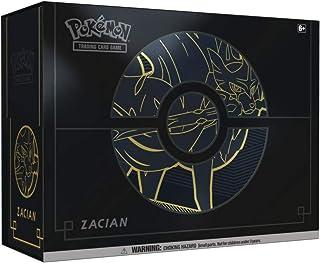 Pokemon POK82743 Pokémon TCG: Sword & Shield Elite Trainer Box Plus Zacian/Zamazenta (one at Random), Mixed Colours
