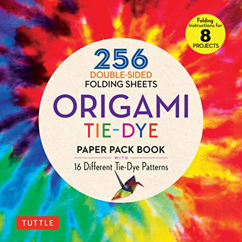 Origami Tie-Dye Patterns Paper Pack Book: 256 Double-Sided Folding Sheets (Includes Instructions for 8 Projects) (Stationery)