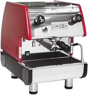 La Pavoni PUB 1V-B 1 Group Volumetric Espresso Machine (Red)
