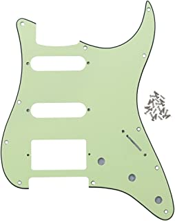 Best mint green strat pickguard Reviews