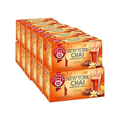 Teekanne NEW YORK CHAI Sweet Honey Lemon 12er Pack