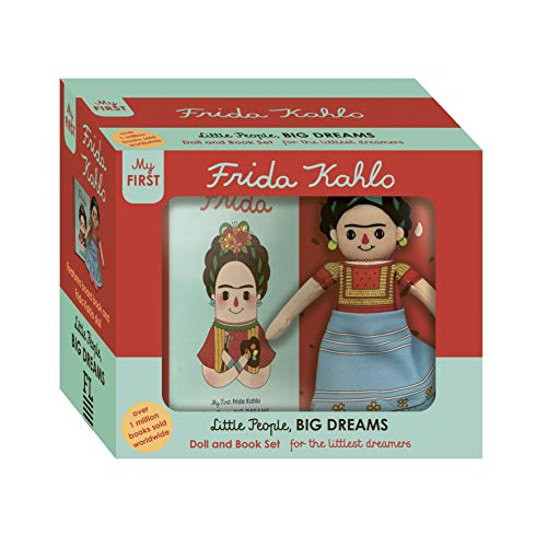 Frida Kahlo Doll and Book Set: For the Littlest Dreamers (Little People, Big Dreams)