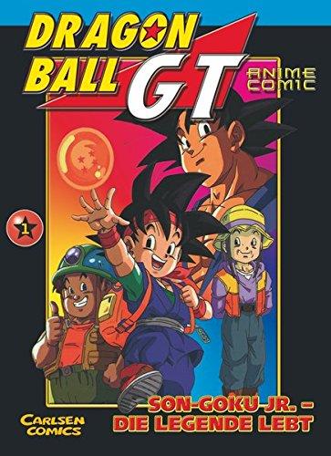 Dragon Ball GT 01. Son- Goku Jr. Die Legende lebt.