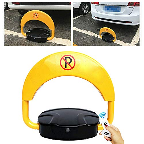 Ferngesteuerter Parkpfosten Parkplatzsperren Parkplatzsperre Klapppfosten Poller, Parkplatzwächter, Parksperre mit Fernbedienung