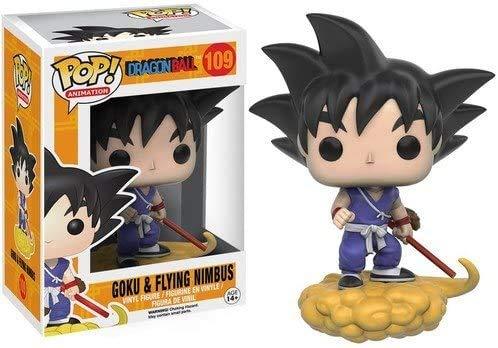 Edición limitada - POP Anime: Dragonball Z - Figura de acción Goku y Nimbus