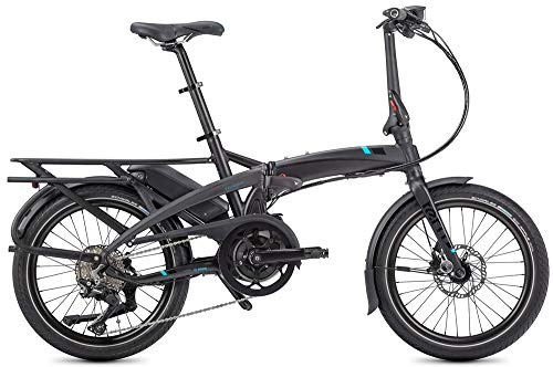 "Tern Vektron S10 LR - Bicicleta eléctrica plegable, gris, 10 velocidades, 20"", CB19EHSD10HLRLB23"