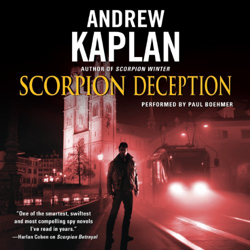 Scorpion Deception audiobook cover art