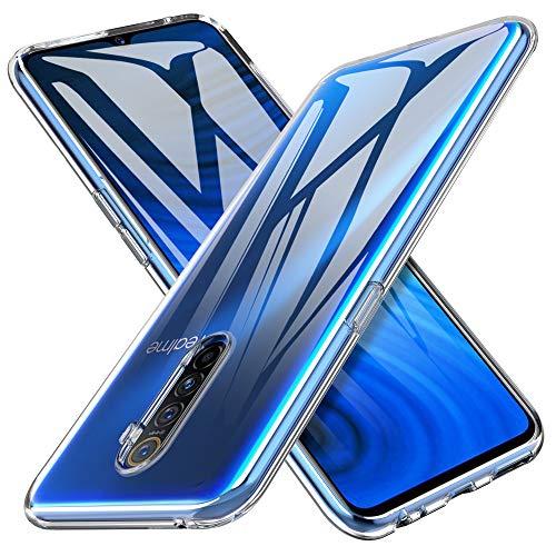 iBetter für Realme X2 Pro Hülle, Soft TPU Ultra Thin Cover Handyhülle Stoßfest [Anti-Scratch] [Slim-Fit] Shock Absorption Hülle passt für Realme X2 Pro Smartphone, klar