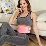 July Electric Vibrating Slimming Belt, Waist Trimmer Slimming Heating Belt with 8 Massage Modes & 3 Heating Modes, Vibration Massage Fat Burner for Men & Women Everyday Wear