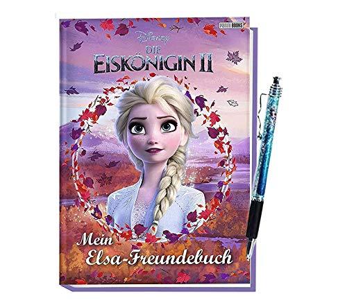 Eiskönigin Disney 2: Mein ELSA-Freundebuch + 1 Kugelschreiber, Mädchen ab 3 Jahren