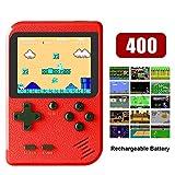 THCL Mini Consola de Juegos portátil incorporada en 400 NES FC Juegos clásicos Compatible con Salida de TV
