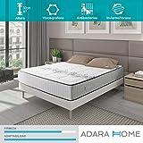 Adara Home Vintage - Colchón de Muelles Ensacados 135x190 - Especial Invierno y Verano