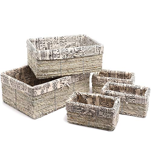 Nesting Storage Baskets are convenient and cute for rv decor