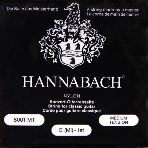 Hannabach 800MT Konzertgitarre Medium Tension Nylon Klassikgitarren-Saiten-Satz