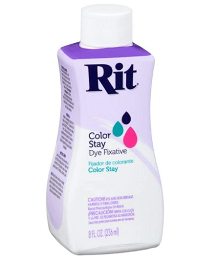 Bulk Buy: Rit Dye Liquid 8 Ounces Dye Fixative 8-72 (3-Pack)