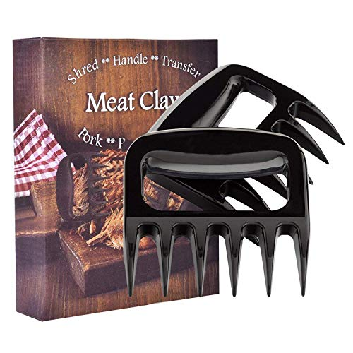 2-Pack Meat Claw, Meat Claws for Shredding Pulling Handing Serving Pork Turkey Chicken Meat Shredder