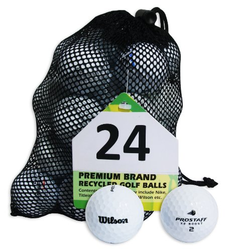 Second Chance Wilson Pro Staff 100 Quality Lake Golf Balls