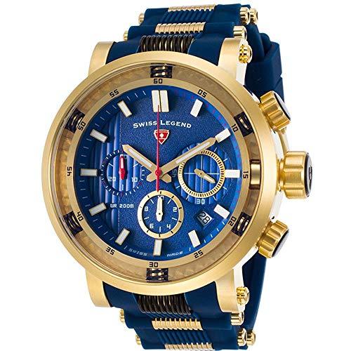 Swiss Legend Dragonet Reloj de Hombre Cuarzo 50mm SL-13838SM-YG-03-BLS