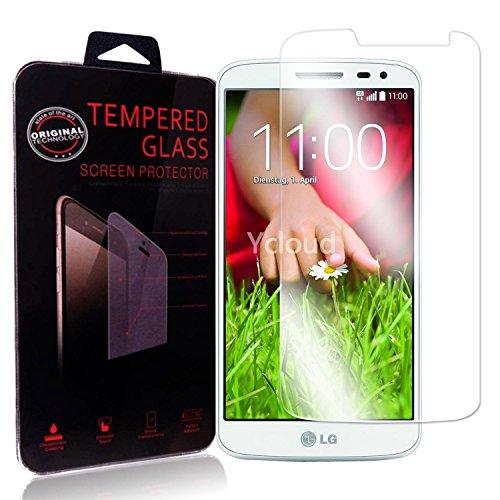 Ycloud Protector de Pantalla para LG G2 Mini (4.7Pulgada) Cristal Vidrio Templado...