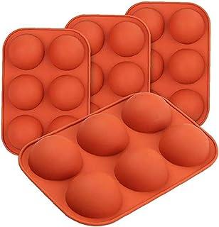 Misterchef ® Silicone Mini ronde demi-cercle balle Dôme à Gâteau Pâtisserie Moule tin tray