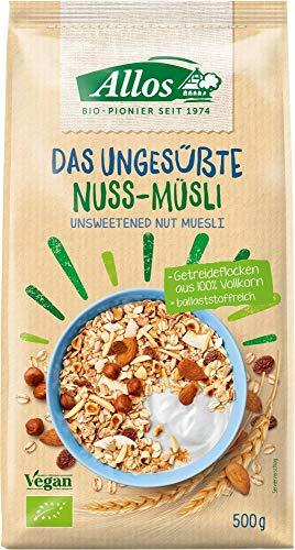 Allos Nuss-Müsli, ungesüßt (500 g) - Bio