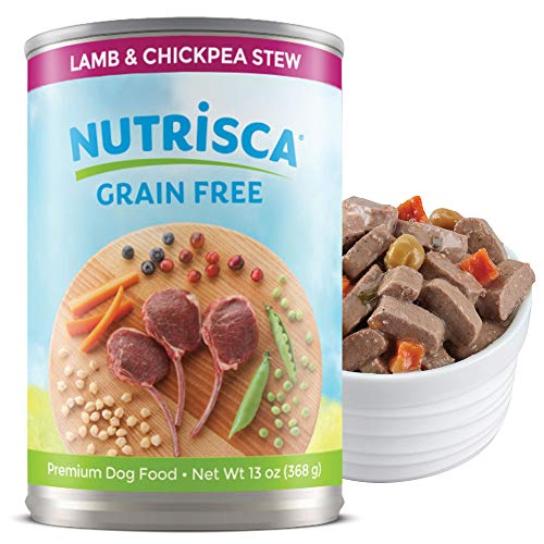 Nutrisca Grain-Free Lamb & Chickpea Stew