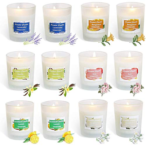 YDDS Scented Candles Gifts Set for Women,...
