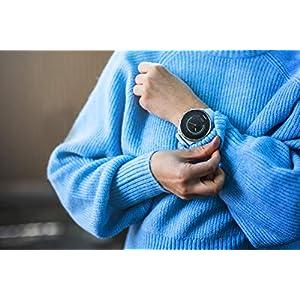 Suunto 9 Reloj Deportivo GPS con batería de Larga duración y medición del Ritmo cardiaco en la muñeca, Unisex-Adulto, Blanco, Talla Única