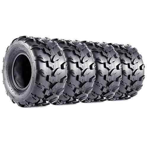 VANACC 18x9.5-8 Sport ATV Tires 18x9.5x8 4PR Lawn Mower Off-Road UTV Tire Set of 2