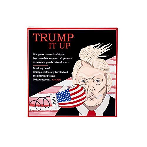 DP-Games Trump IT UP - Juego de Cartas, Juego de Fiesta - ¿Quién es el Mayor Triunfo del Grupo? - Una Gran diversión para niños y Adultos.