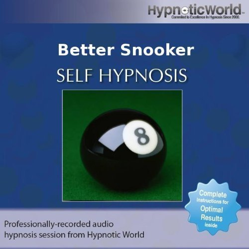 Better Snooker Hypnosis CD by Hypnotic World