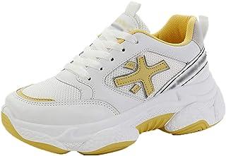 GSGZZD Womens Classic Lederen Slip Sneaker Dagelijks Lopen Casual Schoen Comfort Casual Bevestiging Lichtgewicht Stijlvol ...