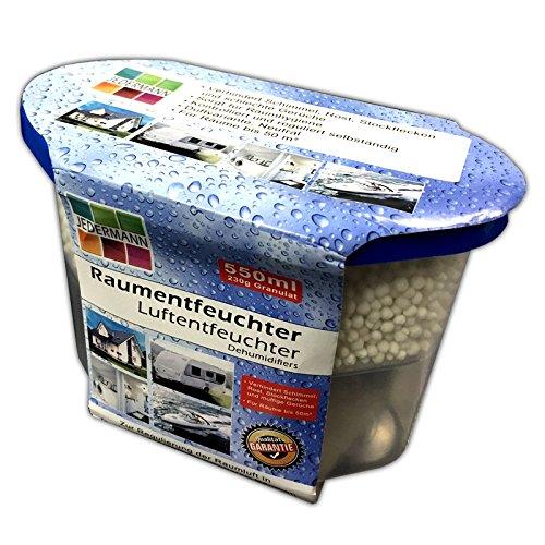 Luftentfeuchter mit Granulat bis 50m² | Auto Boot Haus Lufttrockner Raumtrockner