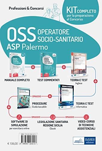 Kit concorso OSS ASP Palermo. Con e-book. Con software di simulazione. Con videocorso