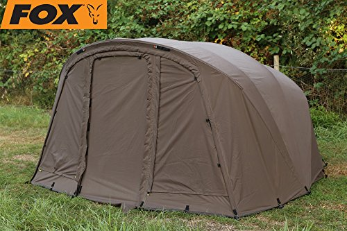 Fox Retreat+ Ripstop Ventec 1-man ext wrap - Überwurf für Angelzelt zum Karpfenangeln, Zeltüberwurf für Fox Zelt