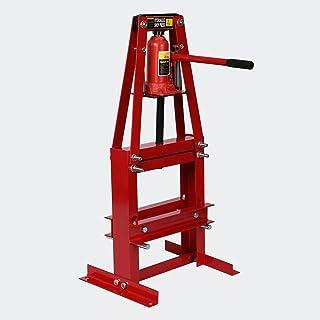 Werkplaatspers, 6 ton, A-frame met werkruimte, 50 tot 110 mm, framepers, hydraulische pers