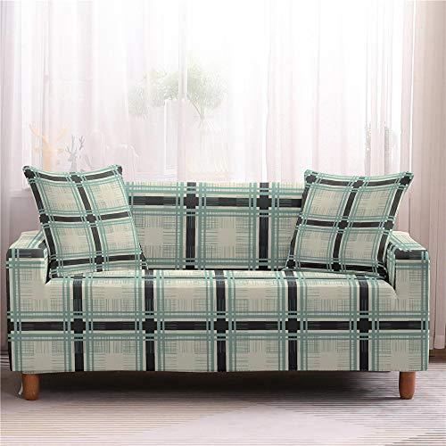 Funda de sofá, funda elástica para sofá de esquina, funda universal para sala de estar elástica de licra en forma de L para sofás