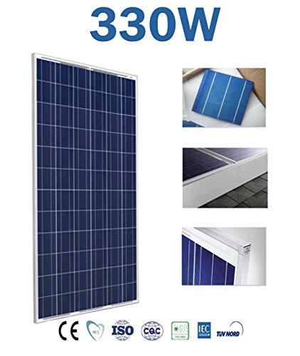 Panel Solar 150w 250w 300w 330w Placa Solar Polycrystalline 12v 24v 48v (330w Poly)